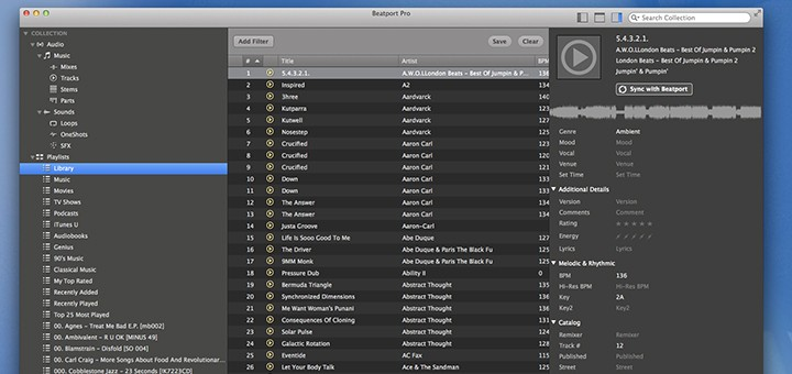 beatportPro for Mac